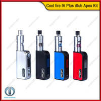 apex red - Innokin Coolfire IV Plus iSub Apex Kit With Cool Fire IV Plus mah W Mod Battery ml iSub Apex Tank Original