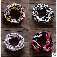 Wholesale New Thicken Warm Scarf Collar Children Boy Gir Knitted Warm Scarves Children Boy Gir Winter Scarf Collar V1B192