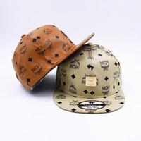 Wholesale The summer of new MCM hat travel cap sunbonnet Baseball Cap Hat peaked cap hip hop hats for men and women