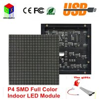 Wholesale P4 SMD in1 Indoor LED Display Module mm pixel scan rgb Led Displays Module for P4 LED Video Wall