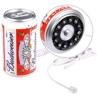 Wholesale New KXT132 Budweiser Drink Can Shaped Wired Telephone