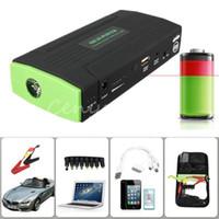 Wholesale Universal mAh V Multi Function Vehicle Jump Starter Car Kit Motor Emergency Backup External Battery Charger Booster Power
