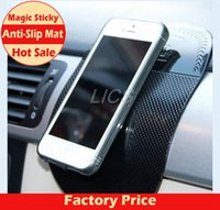 Wholesale 1PCS Automobile Interior Accessories for Mobile Phone mp3 mp4 Pad GPS Anti Slip Car Sticky Anti Slip Mat Work Perfectly as Charm