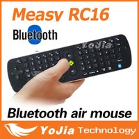 77 - Original Measy RC16 Air Mouse With D Gyroscope Bluetooth G Mini Wireless Keyboard Wireless QWERT Key