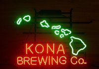 Wholesale New KONA BREWING COMPANY HAWAII Beer Neon Sign Light C190