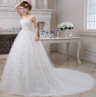 big flower pictures - The new bride wedding dress wedding wedding word shoulder long trail shoulders big size female