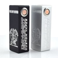 abs discount - ONLY WHITE COLOR BIG DISCOUNT Cherry bomber mini White color Box Mod Single battery Mechanical mod VS Mini ABS Hellhound box mod