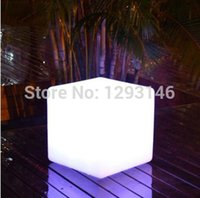 Wholesale 2015 new fashion led cube Outdoor Garden LED Cube Chair Lighting for outdoor decoration the garden