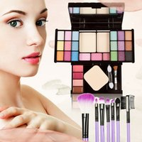 Wholesale Superstar Color Makeup Contour Palette Combination and Makeup Brush ST1