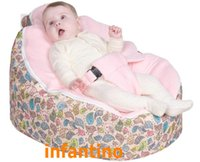 Wholesale PINK BIRDS Soft baby bean bag cheap bean bag chairs for kids bean bag cover