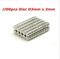 Wholesale 1000pcs Bulk Super Strong Rare Earth Neodymium Magnets Dia mm x mm N35 Small Round NdFeB Disc Magnet Sheets