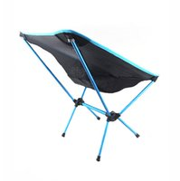 beach chairs - Protable Ultra light Aluminium Multifunction Breathable Backrest Outdoor Camping Beach BBQ Picnic Fishing Folding Chair