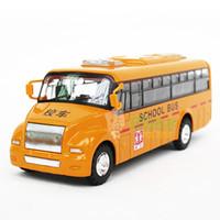alloy domestic - Domestic school bus the door WARRIOR alloy toy car model