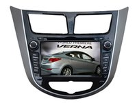 accent cameras - Fit for hyundai verna accent solaris quad core Android Car DVD player GPS Navigation TV G wifi backup camera bluetooth free map