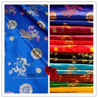 Wholesale Dragon cloud base Han Chinese clothing costume dress costume costume costume COS shroud cloth of gold and silver brocade fabric