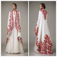 arab strap red - 2015 hot style stain Evening Dresses New Arrival Arab Muslim Dress Ethnic Arab Robes With Long Sleeves Malaysia Middle East Only coat