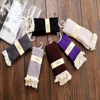 women socks - High Quality Boot Socks Knee High Socks Women Lace Boot Socks with Frilly Socks BHJ