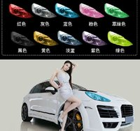 Wholesale w1021 Colors cm x100cm Auto Car Light Headlight Taillight Tint Vinyl Film Sticker Hot Sales Easy To Stick The Whole Car