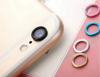 Wholesale Factory Price Metal Lens Ring Protector for Iphone quot Plus After Camera Protection Color iPhone S S PLUS Promotion