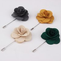 stick pins - Jewelry Hot Lapel Flower Daisy Handmade Boutonniere Stick Brooch Pin Men s Accessories pieces