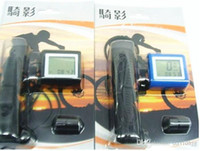 Wholesale 2014 Wireless waterproof clock Folding bike spec trip odometer cycling speed table