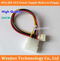 ata supplies - 50PCS High Quality Pin IDE Male to Female ATA Power Supply Floppy Adapter Cable order lt no track
