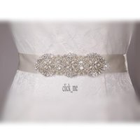 wedding dress belts - 2013 New Fashion wedding dress belt handmade crystal beaded sequined wedding belt waistband wedding dress belt bridal sash