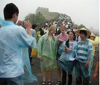 Wholesale PE Disposable Raincoats Poncho Rainwear Fashional Travel Rain Coat Rain Wear gifts Cheap PE Disposable Raincoats Best Travel Rain Coat