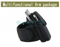 Wholesale Multifunctional Arm package Arm Band Arm Sleeve Wrist Bag Waist Bags Running Handbags Outdoor Products