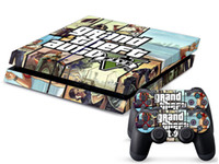 Cheap GTA 5 0343 DECAL SKIN PROTECTIVE STICKER for SONY PS4 CONSOLE CONTROLL
