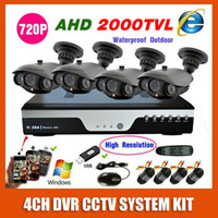 best high resolution security camera - Best Home AHD P CH Security Camera System Kit High Resolution Outdoor Waterproof CCTV Video Surveillance System