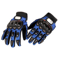 bicycle camping gear - Men Fashion Sports Bike Bicycle Motorcycle Gloves Full Finger Protective Gear Cycling Gloves Racing Accessories Parts M XXL