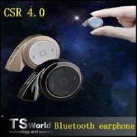 Cheap MINI A8 stereo CSR 4.0 ear hook bluetooth headset earphone headphone mini V4.0 wireless bluetooth handfree for iPhone Samsung tablet