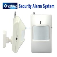 Wholesale Wireless PIR Sensor Motion Detector For Wireless GSM PSTN Auto Dial Home Security Alarm System