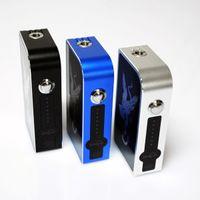 007 - Hottest Mechanical mod Hiwyer Box Mod W Vaporizer Mod Fit Dual Battery for SubTank Mini Nautilus Mutation X RDA Atomizer