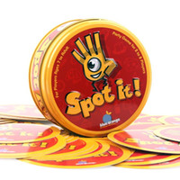Wholesale Spot it Card games Popular Christmas Toys Party Game Award winning game of visual perception for the whole family Popular Board Game