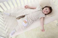 Wholesale baby sleepsack Spring Fall toddler sleeping bag sleeve detachable dual zipper