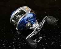 Wholesale 9 ball bearing baitcasting fishing reel with magnetic braking system for river or Taiwan fishing