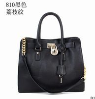Wholesale The new Europe and the United States high grade pure color party atmosphere with the bag in commute single shoulder bag handbag