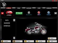 Wholesale For Honda SYM KYMCO for YAMAHA SUZUKI HTF PGO series brands motorcycle scanner vdiag motorbike diagnostic repair scan tool