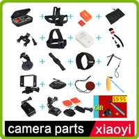 Wholesale Gopro Accessories set For xiaoyi Sj4000 Go pro Hero Floating Bobber Selfie stick Monopod Hand Head Chest Strap Adapter