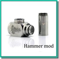 Cheap set series hummer mod Best Stainless steel,Gold and Silver  Metal Mechanical E Pipe