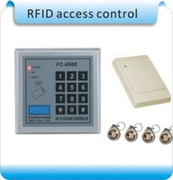 Wholesale FC E Enter and out reader RFID Proximity Entry Door Lock Access Control System WG reader crystalcard