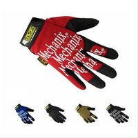 mens sports gloves - Mechanix Wear Full Fingers Gloves Mens Racing Gloves Moto Glove Shooting Bike Motorcycle Military Sports Gloves