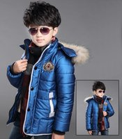 Wholesale New Children s clothing autumn and winter male child wadded jacket child cotton padded jacket baby child cotton padded jacket