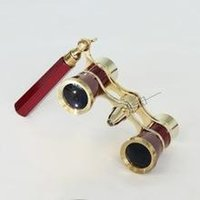 opera binoculars - LED lights with handles boutique metal opera glasses binoculars telescope optical glass lens telescope