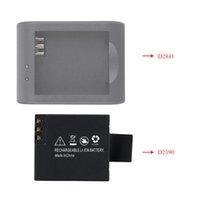Wholesale 3 V mAh Rechargable Li ion Replacement Battery for SJCAM SJ4000 SJ5000 M10 X1000 Sports Camera D2390