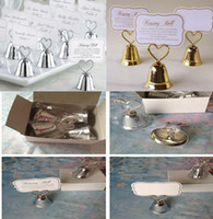 Wholesale Party favor Kissing Bell Place Card Holders