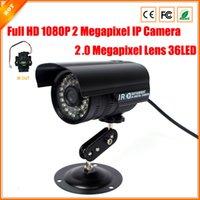 achat en gros de logiciel caméra de sécurité ip-2.0 mégapixels lentille 2MP 1080p Full-HD IP caméra 30fps CCTV Caméra étanche sécurité anti-IR filtre logiciel libre