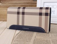cheap wholesale purses - Men Luxury Wallets PU Leather Purse Long Wallet Brand Designer Wallets Zipper Wallet Card Holder Purses Cheap